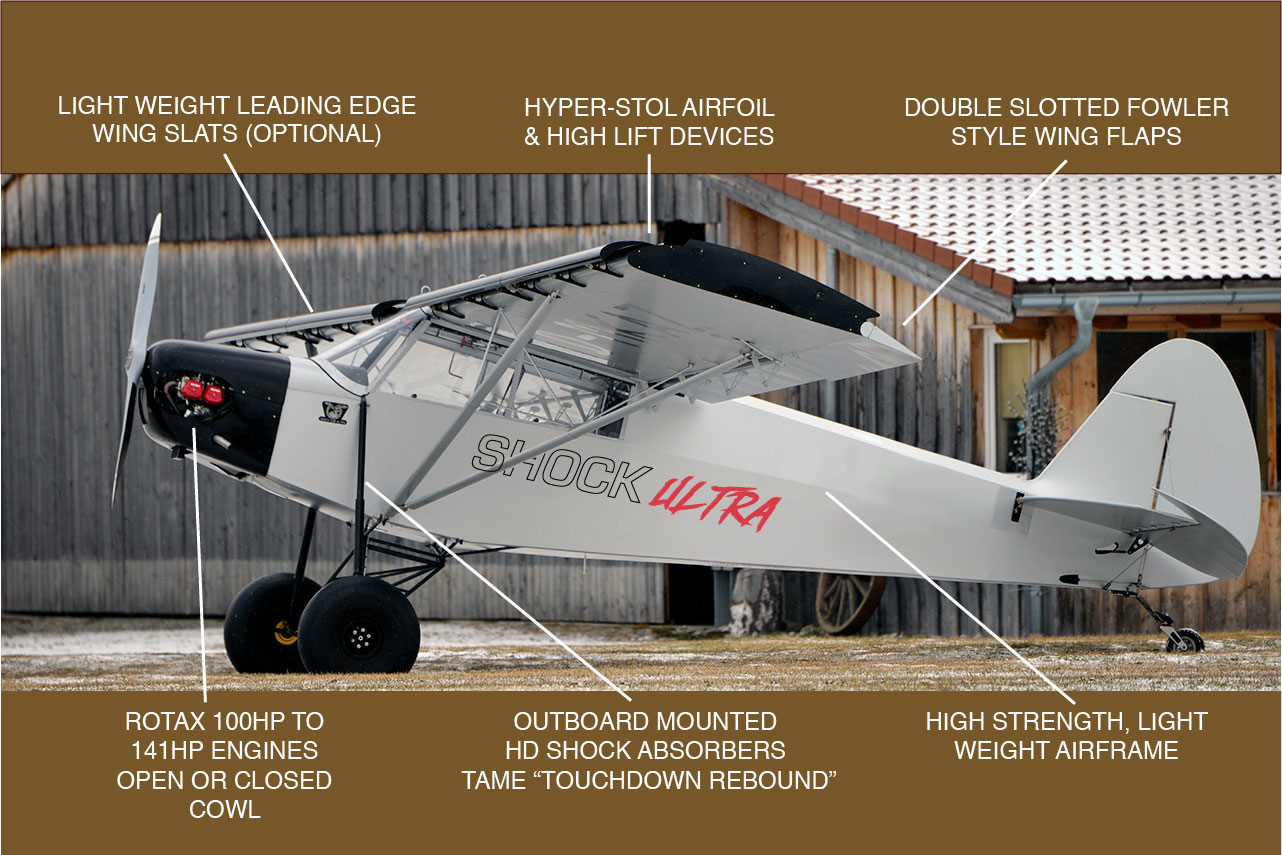 Savage STOL: Outback Shock & Nomad   Savage Aircraft distributed by